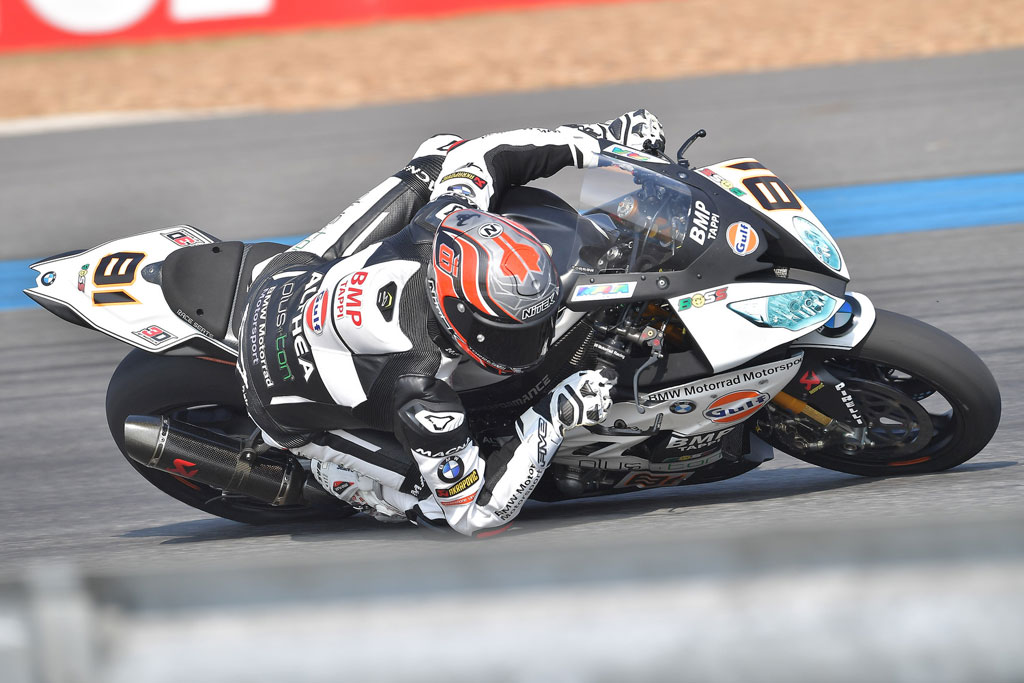 Fantastic performance by Torres and Althea BMW at Buriram
